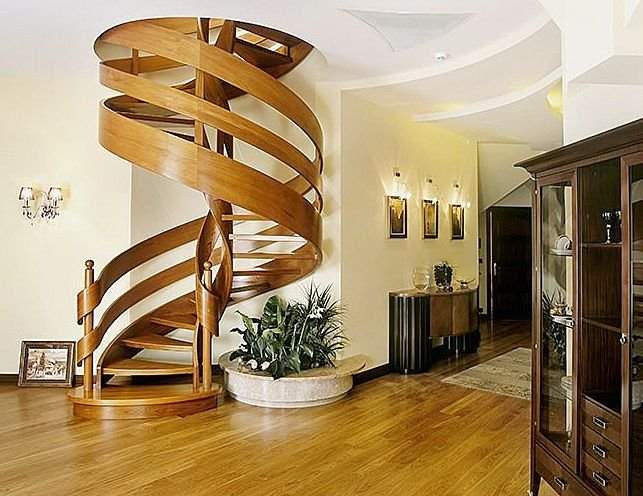 wood staircase design ideas to enhance the look of your house - Design Ideas