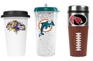 Reusable glass cups