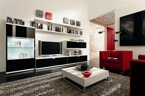 Decorating Ideas For Living Room Interiors Part 38