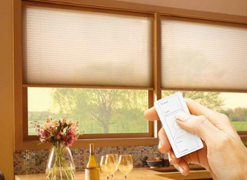 Serena Remote Controlled Honeycomb Shades