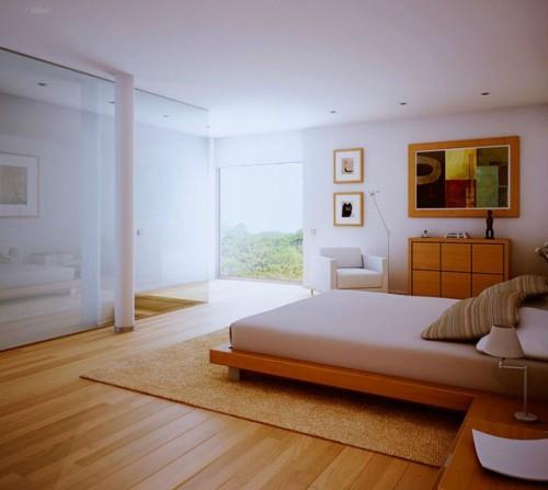 Some Of The Great Bedroom Decorating Ideas Inhabit Blog - Cork flooring bedroom