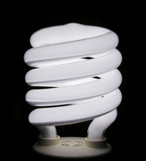 Use Fluorescent Light Bulbs