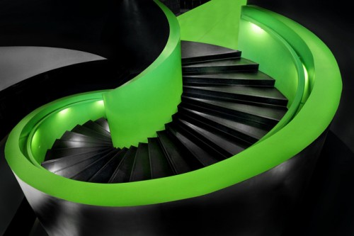 Blocky Looking Staircase Designs