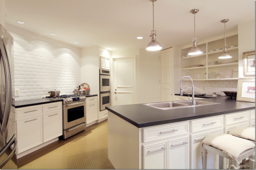 Open Faced kitchen cabinets