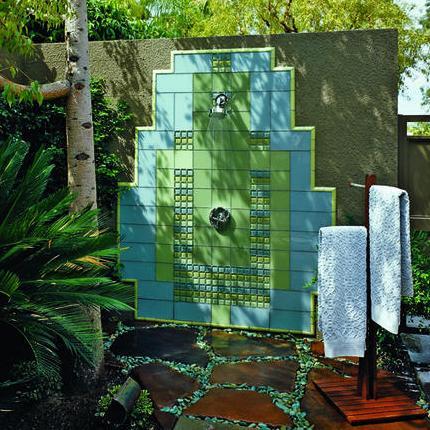 Amazing Yet Subtle 15 Outdoor Shower Designs Inhabit Blog