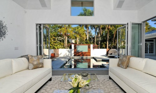 Blending indoors with the outdoors
