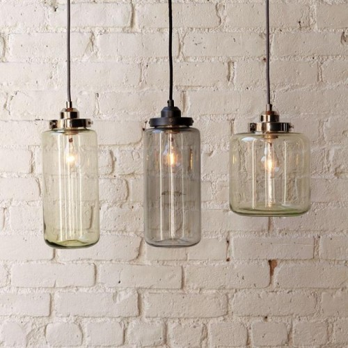 Crate & Barrel Jarred Lamps
