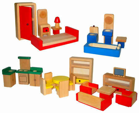 Ikea introduces new dollhouse furniture inhabit blog Dollhouse wooden furniture