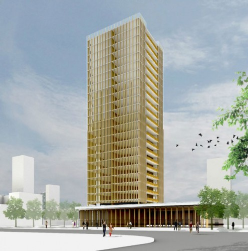 Mass Timber for Building Skyscrapers