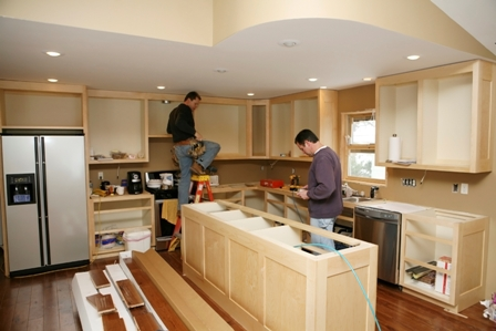 Remodelling the kitchen