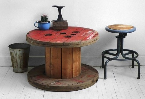 Vintage Cable Spool