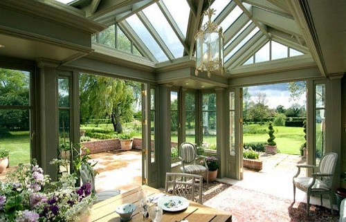 conservatory and garden range