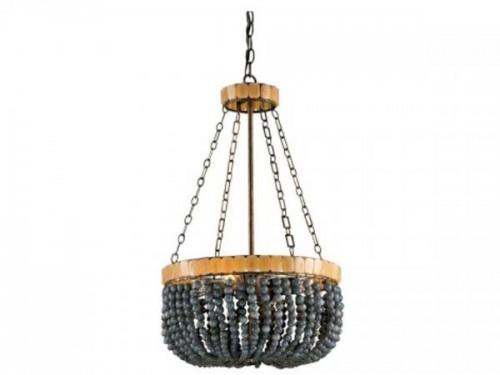 Eclectic chandelier