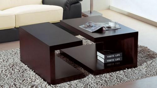 Wooden Center Table Ideas For The Modern Living Room Inhabit Blog