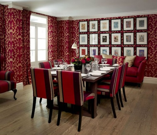Red in Dining