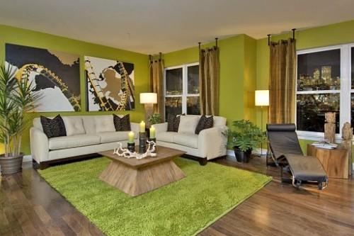 Sustainable interiors materials