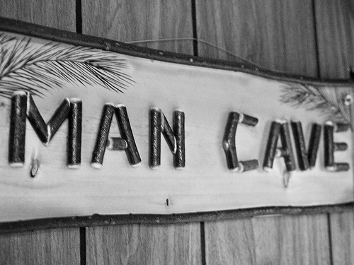 Build Your Man Cave in 4 Steps