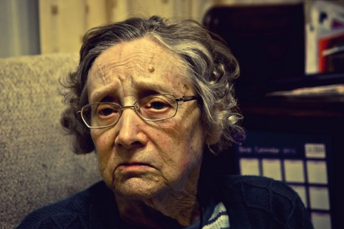 Grandmother by forayinto35mm