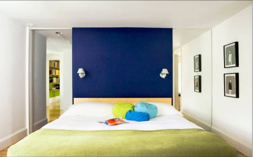 bedroom in colors