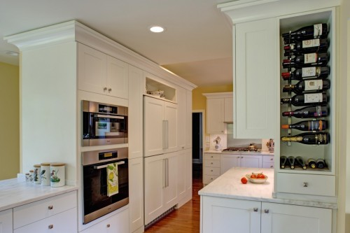 Cabinets with no or low VOC finishes