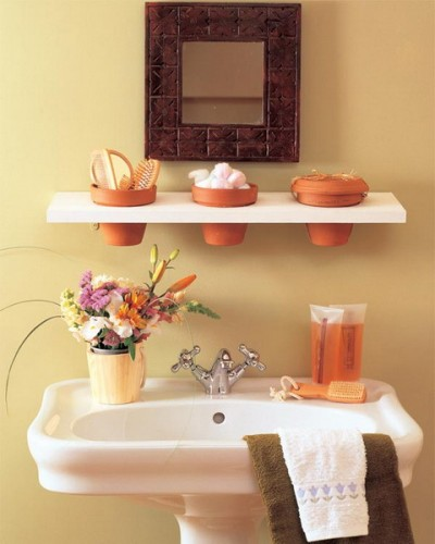 Small storage for bathrooms