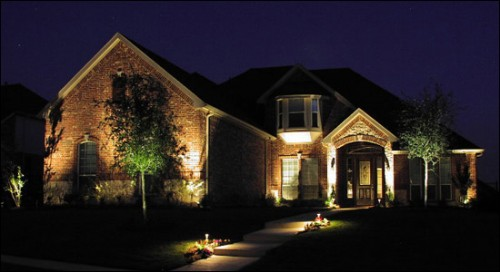 Some great and decorative outdoor lighting ideas inhabit blog Exterior accent lighting for home