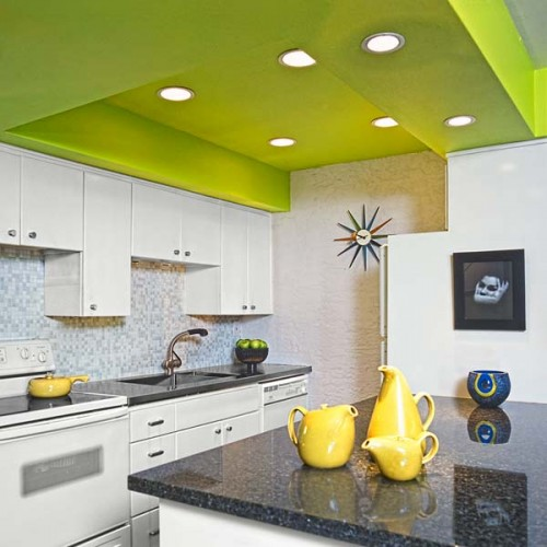Green Ceiling Colors
