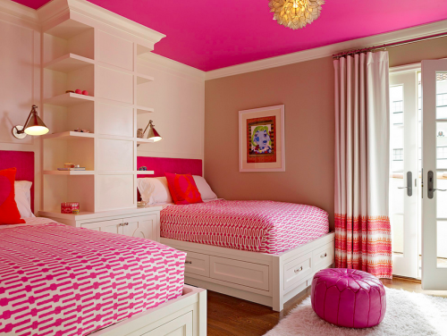 Pink Ceiling Colors