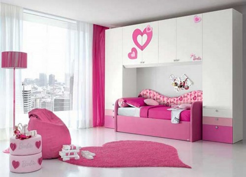 Pink Home Decorating Color
