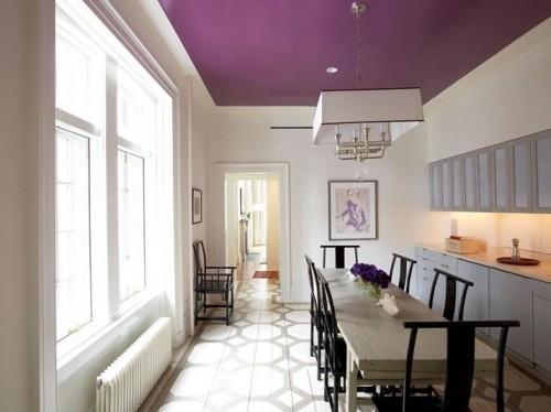 Purple Ceiling Colors