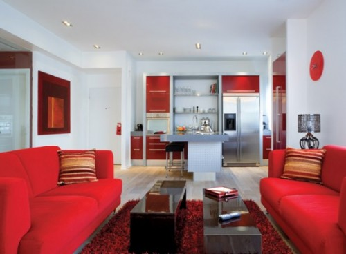 Red Home Decorating Color