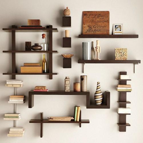 Wall Shelves Decorating Ideas