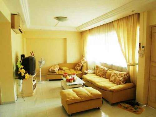 Yellow Home Decorating Color