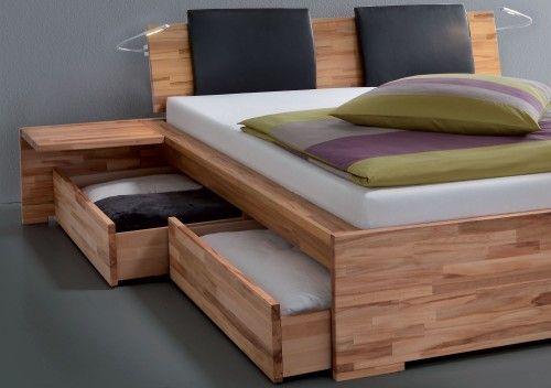 Wooden bed types