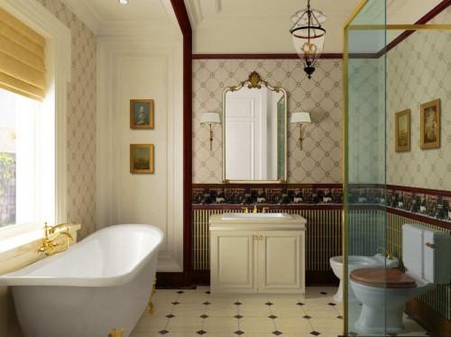 Antique bathroom for a change