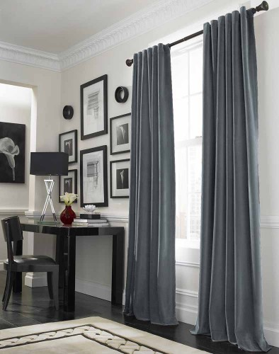 Hanging the interior curtains