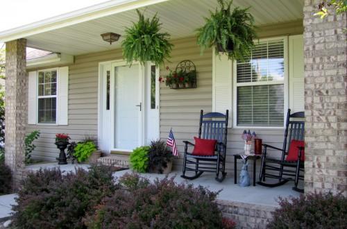 ten simple summer porch decorating ideas | inhabit blog