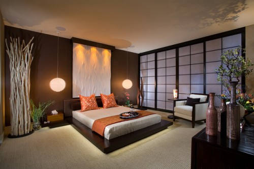 Asian Bedroom Decorating Ideas