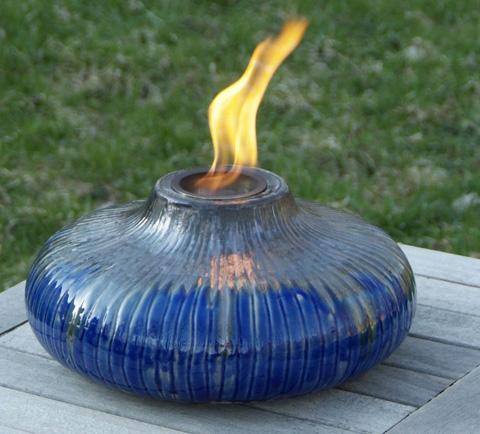 Fire pot candleholder