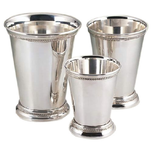 Silver plated julep cup