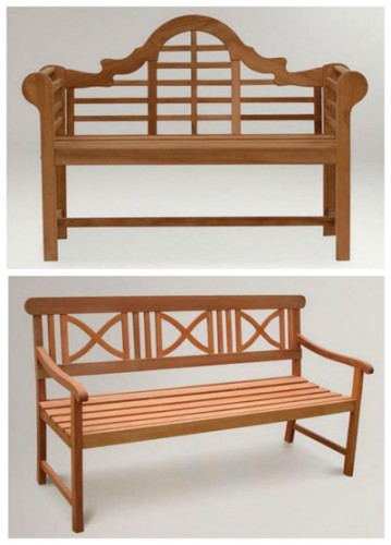 World Market outdoor benches