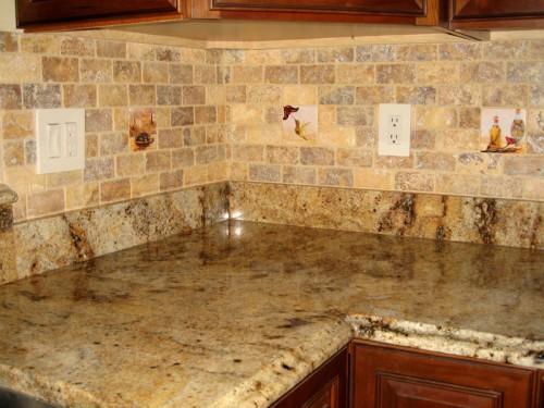 Natural Stones kitchen tiles