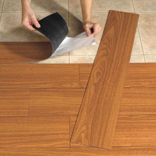 Vinyl kitchen tiles