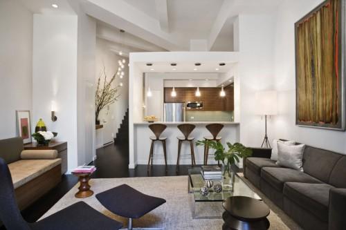 Loft with geometric architecture, New York