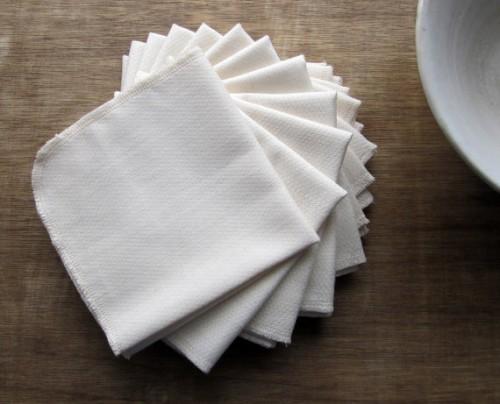 Invest in organic napkins
