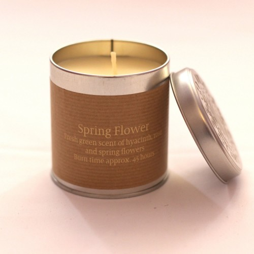 Springs candle tin
