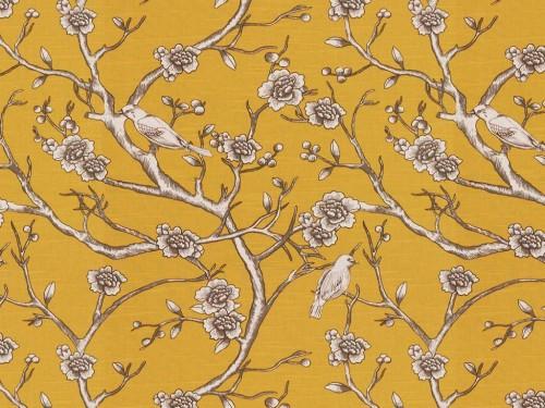 Vintage blossoms print