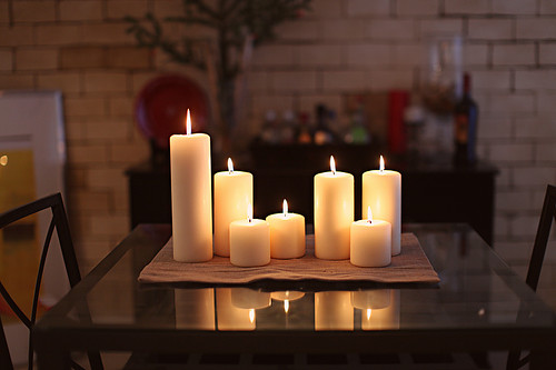 Candles Home Decor hearthstone diagonal cut gl candle holders modern candleholders Candles