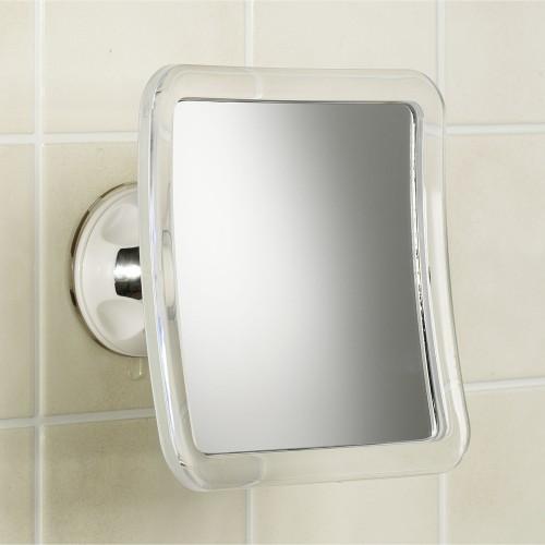 Elucidated bathroom mirrors