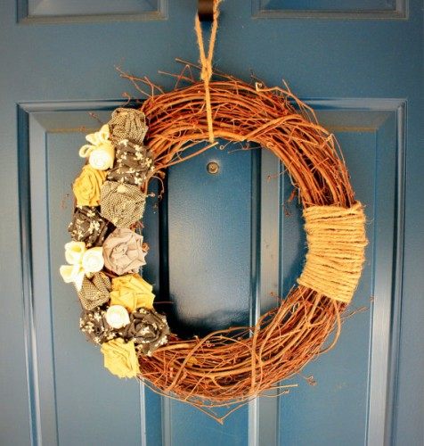 autumn wreath for your home